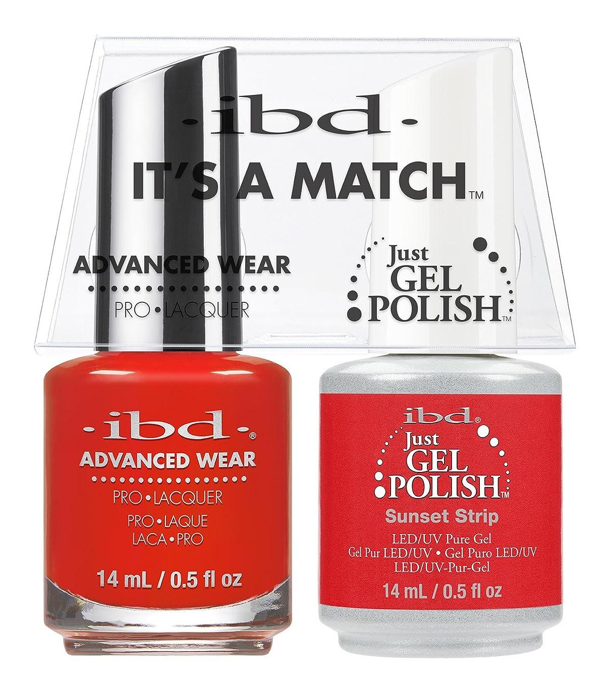 くるくる思われる裏切り者ibd - It's A Match -Duo Pack- Sunset Strip - 14 mL / 0.5 oz Each