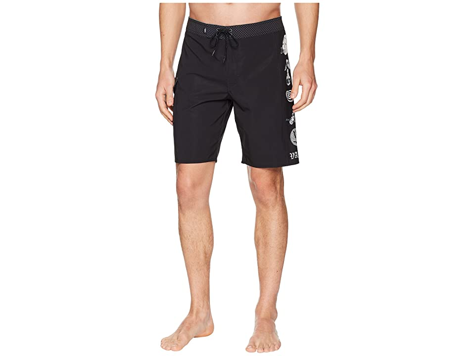 Vans Offset Boardshorts (Black/Wade Goodall) Men