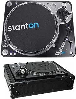 Stanton T.92 M2 USB Direct-Drive S-arm USB DJ Turntable + Hard Case - Black