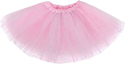 Simplicity Baby Girl's Classic Layers Tulle Tutu Skirt (6 Months to 8 Years)