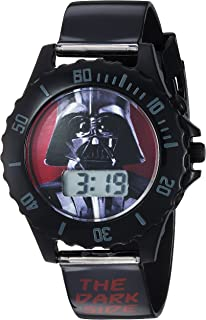 Star Wars Boy's Quartz Plastic Casual Watch, Color:Black (Model: DAR3514)