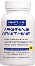L ARGININE + L ORNITHINE Extra Strength Nitric Oxide Booster for Muscle Growth, Vascularity & Energy Cardio Heart Non GMO ...
