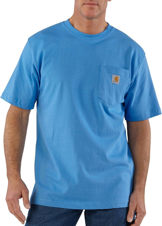 Carhartt Albuquerque Mall Men's K87 Workwear Short Bi T-Shirt Sleeve and Regular Max 47% OFF