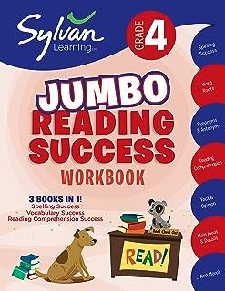 4th Grade Jumbo Reading Success Workbook: 3 Books in 1--Spelling Success, Vocabulary Success, Reading Comprehension Succes...