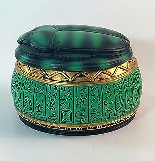 YOUNI - Egyptian Pharaonic Scarab Jewelry Box (4 Inches)