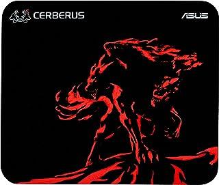 ASUS Cerberus - Tappetino per mouse da gioco, colore: Rosso con superficie consistente e gomma antiscivolo