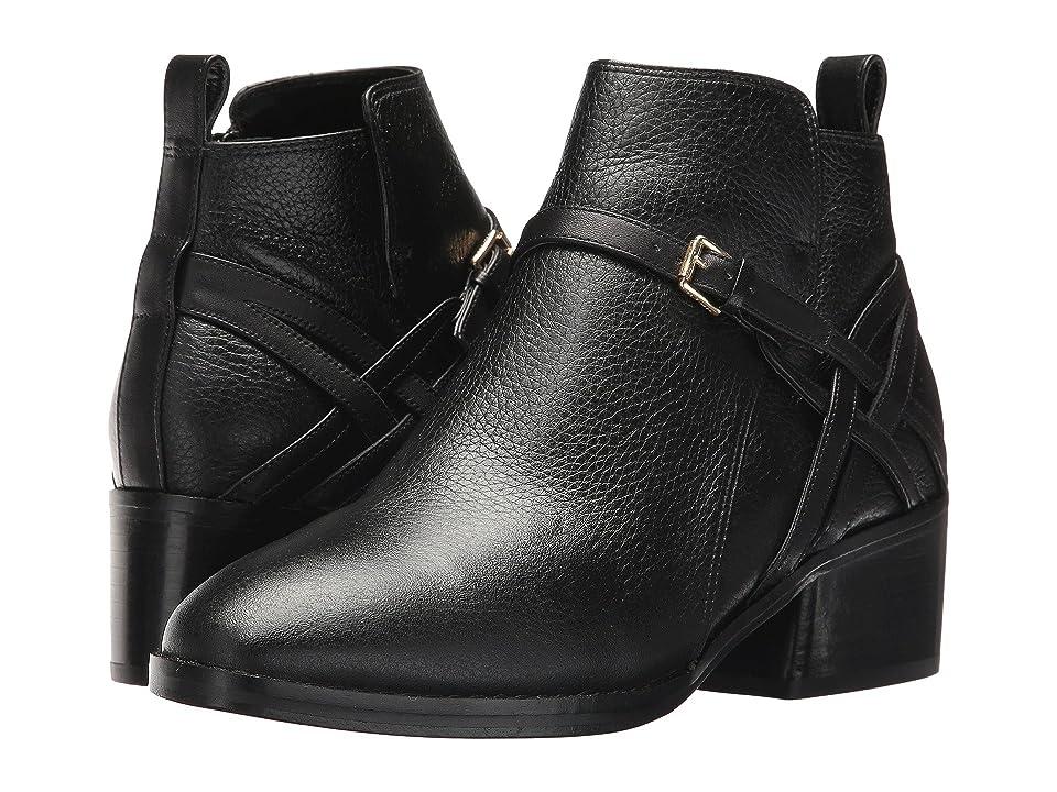 Cole Haan Pearlie Bootie (Black Leather) Women