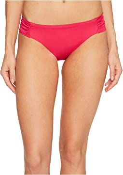 Trina Turk - Studio Solids Shirred Side Hipster Bikini Bottom