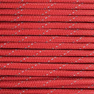 Reflective Type III 550 Paracord – 7 Strand Core – 100% Nylon, Parachute Cord, Commercial Paracord, Survival Cord and Lengths