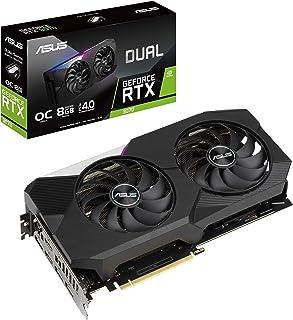 ASUS Dual NVIDIA GeForce RTX 3070 OC Edition Gaming Graphics Card (PCIe 4.0, 8GB GDDR6 Memory, HDMI 2.1, DisplayPort 1.4a,...