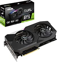 ASUS Dual NVIDIA GeForce RTX 3070 OC Edition Gaming Graphics Card (PCIe 4.0, 8GB GDDR6 Memory, HDMI 2.1, DisplayPort 1.4a,...