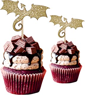 Best chinese dragon cupcake toppers Reviews