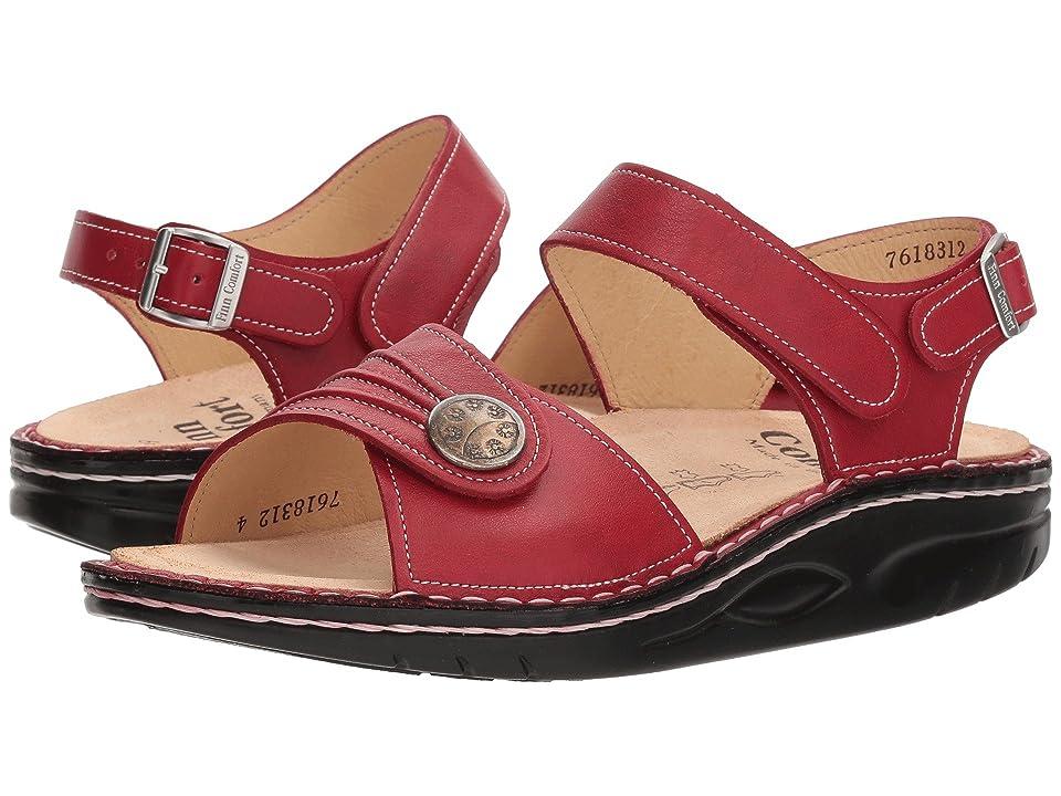 Finn Comfort Sausalito (Red) Women
