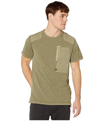G-Star Arris Pocket Round Neck Short Sleeve T-Shirt (Sage) Men