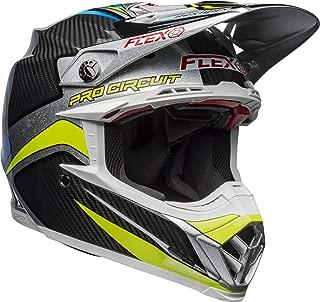 Bell Moto-9 Flex Off-Road Motorcycle Helmet (Pro Circuit Replica 19 Gloss Black/Green, Large)