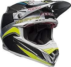 Bell Moto-9 Flex Off-Road Motorcycle Helmet (Pro Circuit Replica 19 Gloss Black/Green, Medium)