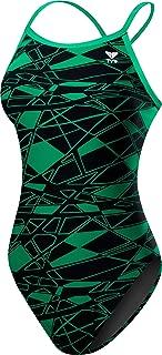TYR Girls' Mantova Diamondfit Swimsuit