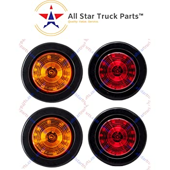 MSQ-CD Rear L+R Reflector Light Lamp for Jeep Grand Cherokee /& Compass 2.0L 2.4L 3.6L 57010720AC 57010721AC Smoked Black