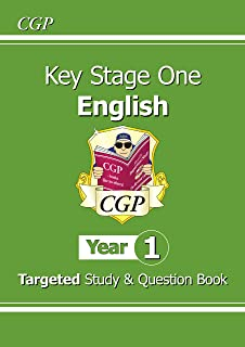 KS1 English Targeted Study & Question Book - Year 1
