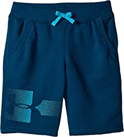 Rival Graphic Fleece Shorts (Big Kids)