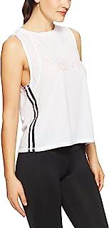 Calvin Klein Women's Epic Knit Logo Tank with Side Stripe