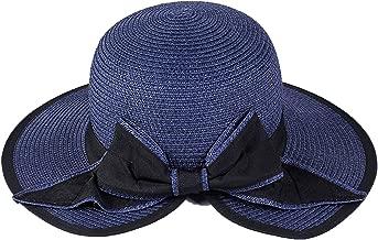 Heart .Attack Simple Split Big Bow Visor Sunscreen Sun Hat Seaside Holiday Big Beach Hat Tide