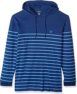 Chaps Men's Big and Tall Long Sleeve Light Weight Popover Hoodie
