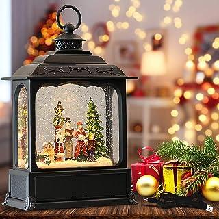 Garden Party Home Used for Christmas Decoration WL LED Christmas Chandelier for Christmas Sucker Snowman Lamp Kitchen Window Christmas Lantern Festive Scene Atmosphere Light Christmas Tree