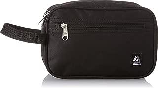 Everest - Neceser con doble compartimento, Negro, Una talla