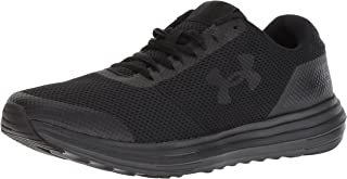 Under Armour Men's Surge Running Shoe, Anthracite (100)/Zinc Gray, 8.5