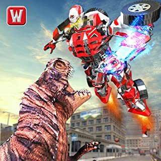 Superhero Robot vs Dino: Incredible Monster Battle