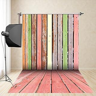 FiVan™-Sp 150x250cm Color de madera Fondo fotográfico de los apoyos de la bufanda photography estudio de fotografía de la ropa infantil seda de imitación FD-2103