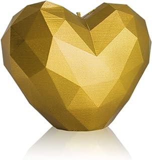 Vela Decorativa Día de San valentín Vela de Corazón Velas Decorativas Vela Figura de Corazón sin Aroma Forma Única Vela Duradera para Interiorismo Ingredientes Regalo para los Románticos