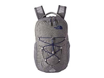 The North Face Jester Backpack (Zinc Grey Light Heather/Flag Blue) Backpack Bags
