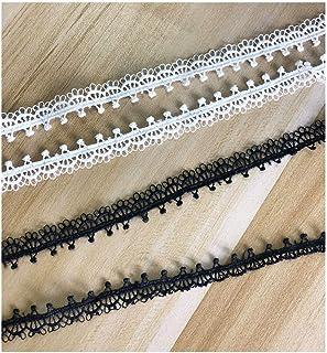 Manualidades para decoraci/ón de Bodas Vintage bigdispawl Rollo de Cinta de arpillera Ribetes de Encaje Blanco Bricolaje 1 Cinta de Yute de arpillera Natural