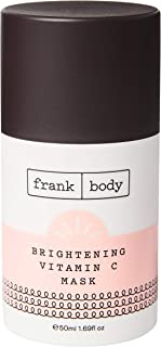 Frank Body Brightening Vitamin C Face Mask | Acne, Scarring, Fine Lines, Hyperpigmentation | Reveal Clear Skin | 50ml