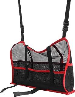 FOKH Suporte de bolso de rede para carro, bolsa organizadora de carro, conveniente espessa, prática com tipo de bolsa de r...