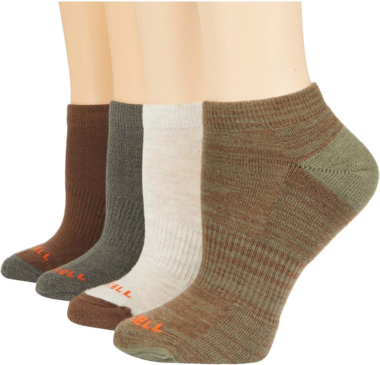 Merrell Midweight Cushion Low Cut Socks 4-Pair