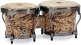 Latin Percussion Aspire Series Bongos - Havana Cafe with Brushed Nickel Hardware