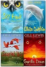 Gill Lewis Collection 4 Books Set (Scarlet Ibis, White Dolphin, Gorilla Dawn, Sky Hawk)
