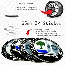 AMD AMG BLACK Emblem Badge Stickers Decals with Strong 3M Includes instructions MEASURE Before Purchase Fitment Top Quality fit For BENZ AMG C S E etc pack of 1 AMG REAR BLACK