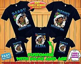 moana shirts for family