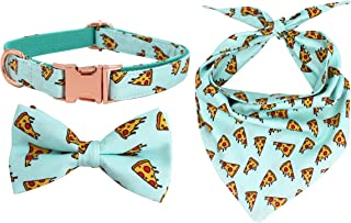 pizza dog collar