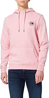 Tommy Hilfiger Men's Circle Chest Corp Hoody Hooded Sweatshirt
