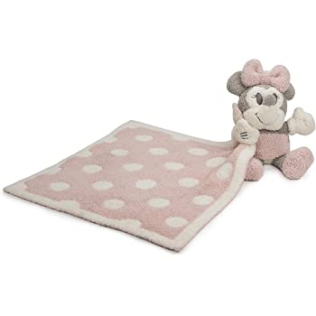 Barefoot Dreams CozyChic Vintage Minnie Mouse Buddie Blanket Dusty Rose Multi One Size