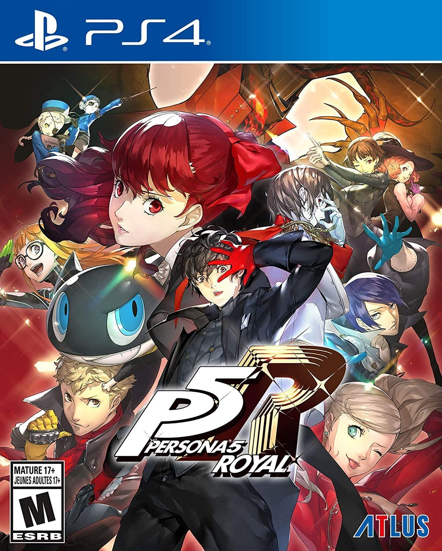 Persona 5 PS4 Royal Video Game  $29.99 Coupon