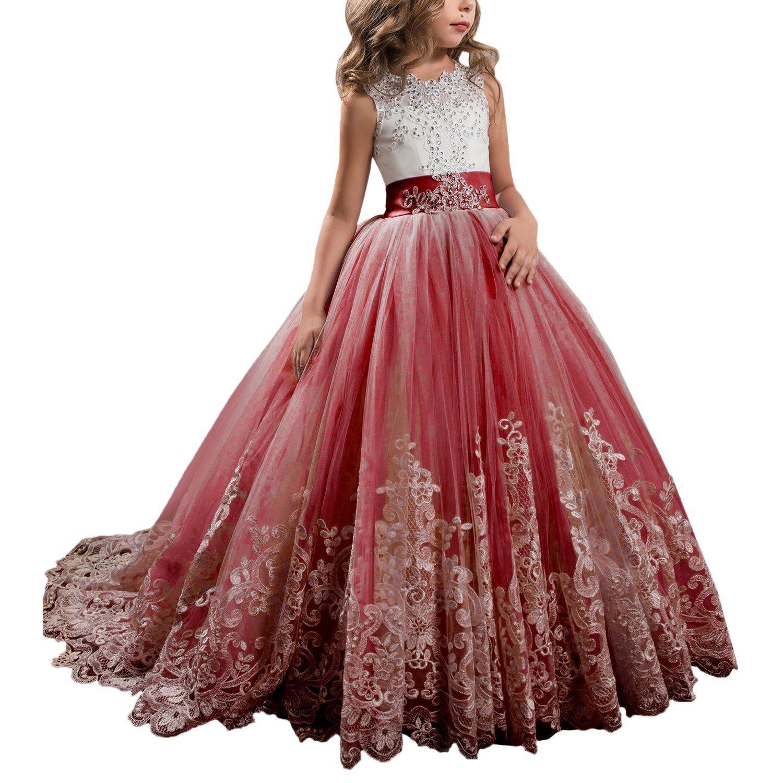 GU ZI YANG DRESS ガールズ US サイズ: 6