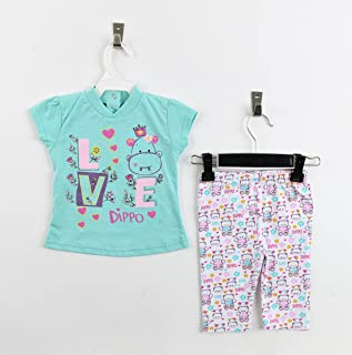 Dippo Cotton Pajama Blouse With Stretch - Summer