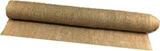 AAYU Burlap Fabric Eco-Friendly and Disposable Jute Planter Liner  16 Yards Burlap-roll  Garden Weed Barrier Heavy 7oz Landscaping 36 inches (48 ft)