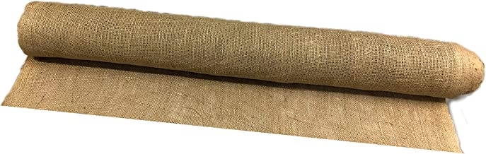 AAYU Burlap Fabric Eco-Friendly and Disposable Jute Planter Liner |16 Yards Burlap-roll |Garden Weed Barrier Heavy 7oz Landscaping 36 inches (48 ft)
